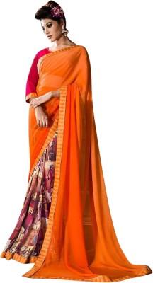 Pari Fashion Self Design Fashion Georgette Sari