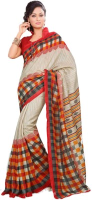 Chirmangal Printed Bollywood Jute Sari