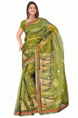 MGS Self Design Fashion Net Sari