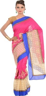 KDC SAREES Embriodered Banarasi Handloom Banarasi Silk Sari