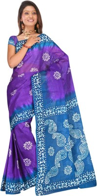 Salwar Studio Printed Daily Wear Cotton Sari