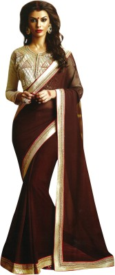 Saroj Embriodered Fashion Georgette Sari