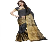 hardik Printed Assam Silk Silk Saree (Mu...
