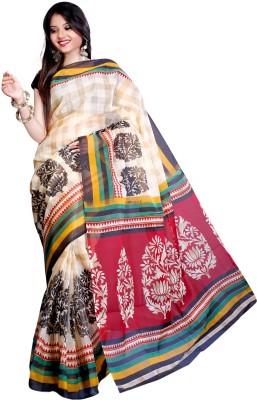 Vastrakala Printed Fashion Cotton Sari