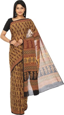 Kalakari India Printed Fashion Handloom Cotton Sari