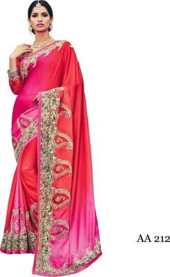 sahaj Embriodered Rajshahi Satin Sari