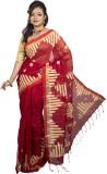 monidipa Self Design Fashion Cotton Sare...