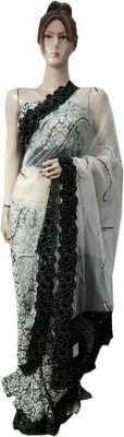 NEW LOOK DESINER Printed Daily Wear Synthetic Sari