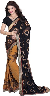 Daksh Enterprise Self Design Daily Wear Chiffon Sari