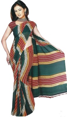 Devinez Printed Fashion Synthetic Sari