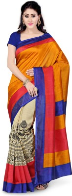 Saree Swarg Printed Bollywood Art Silk Sari