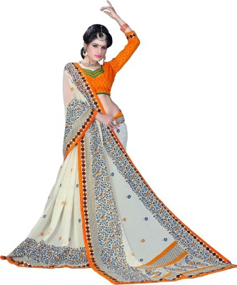 Ethnic For You Printed Daily Wear Silk Sari