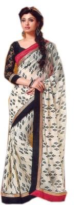 Saroj Sarees Printed Fashion Chiffon Sari