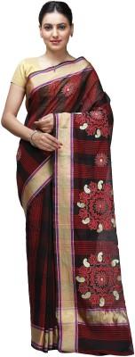 Shloka Woven Banarasi Handloom Chanderi Sari