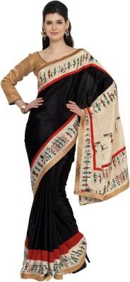 Moiaa Printed Fashion Crepe Sari