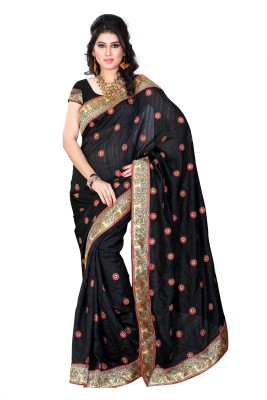 Diva Fashion-Surat Embriodered Bollywood Handloom Art Silk Sari