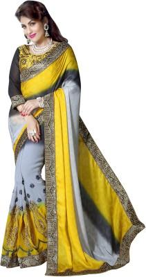 Kabeer Creation Embriodered Bollywood Handloom Jacquard Sari
