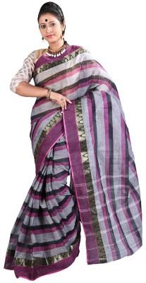 Kakali Self Design Shantipur Handloom Cotton Sari