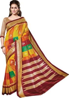 Trendiez Printed Fashion Art Silk Sari
