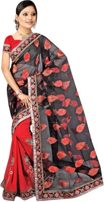 Janya Embriodered Fashion Georgette Sari
