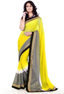 Sourbh Sarees Self Design Fashion Chiffon Sari