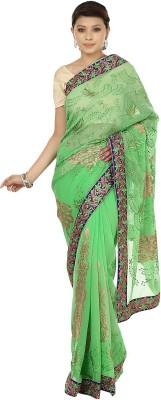 Sri Sai Vastra Embriodered Bollywood Silk Sari