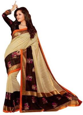 Bhavya Sarees Printed Fashion Art Silk Sari