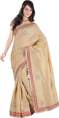 Laxmi Fashion Embriodered Bollywood Banarasi Silk Sari