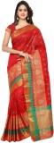 Makeway Woven Banarasi Polycotton Saree ...