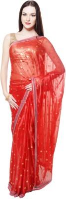 Abhinav Fashion Printed Fashion Lycra Sari