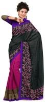 Roop Kashish Printed Fashion Art Silk Saree(Multicolor)