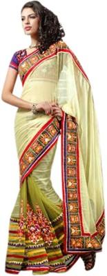 Fashion Studio Embriodered Fashion Net Sari