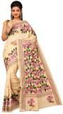 Darbari Self Design Kantha Tussar Silk S...