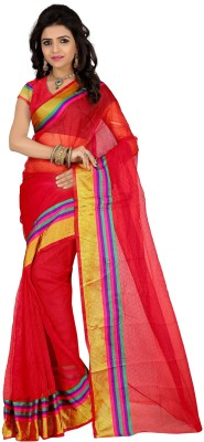 Wing Deals Self Design Daily Wear Silk Sari