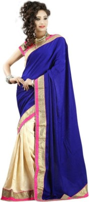Manglam Sarees Self Design Bollywood Velvet Sari