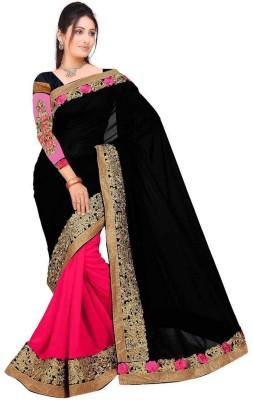 Kataria Fabrics Embriodered Fashion Georgette Sari