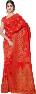 MINAXI Self Design Bhagalpuri Dupion Silk Sari