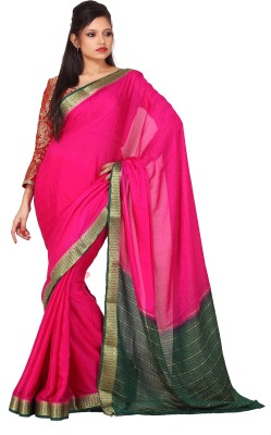 Sanghmitra Creations Printed Fashion Crepe Sari