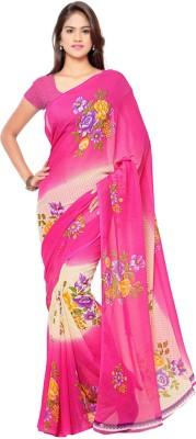 Anand Sarees Printed Fashion Georgette Sari