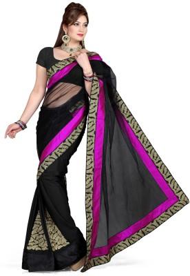 De Marca Printed Fashion Net Sari