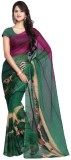 GSI Solid Daily Wear Georgette Saree (Mu...