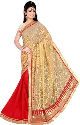 Fashion4Nation Self Design Fashion Brasso Sari