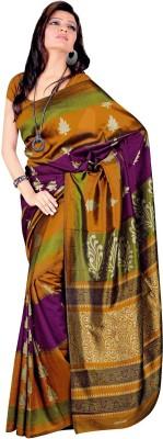 Muta Fashions Striped Bollywood Poly Silk Sari