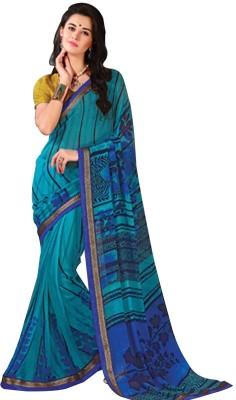 Tulaasi Printed Fashion Printed Silk Sari