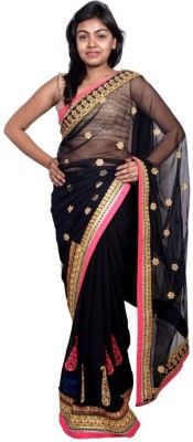 Kanchan Shree Embellished Bollywood Georgette Sari