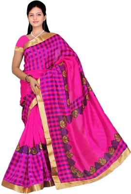 Mathura Printed Paithani Polycotton Sari