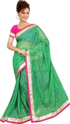 Balaji Creations Solid Bollywood Net Sari
