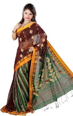 Taniis Woven Tant Handloom Cotton Sari