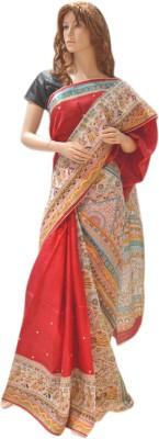 Exin Fashion Woven Murshidabad Pure Silk Sari