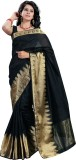 Tagbury Solid Fashion Art Silk Saree (Bl...